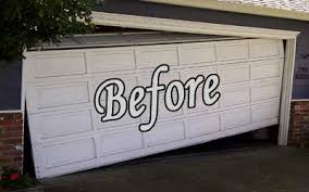 in a garage garage door repair continental custom iron