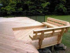 deck bench with back plans free patio bench plans woodworking