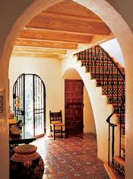 Spanish Style Homes Interior Pueblo Style Staircase In Scottsdale Az Designed By Award Winning