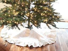 burlap tree skirt pleated burlap tree skirt diy