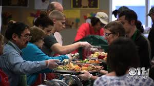 anchorage residents gather to serve free thanksgiving meals ktva