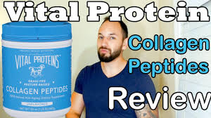 vital proteins collagen peptides review grass fed youtube