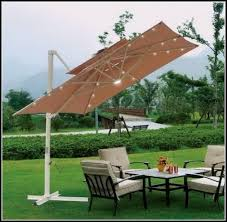 Rectangle Patio Umbrella Rectangular Patio Umbrella With Solar Lights New Solar Lighted