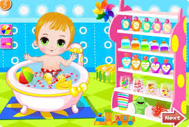 happy baby bathing games android apps on google play