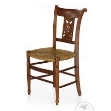 chaise en bois chaise bois et paille etoile saulaie