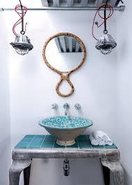 accessoire salle de bain orientale salle de bain marocaine marie claire