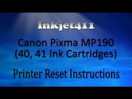 canon pixma mp198 resetter download canon pixma mp190 printer reset procedure 40 41 ink cartridges