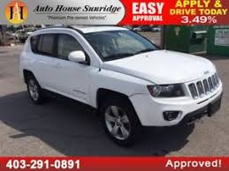 jeep compass calgary jeep compass white find great deals on used and cars