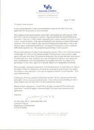 sample recommendation letter from phd supervisor cover letter
