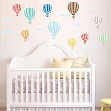 scorching air balloon wall decals information table hot air balloon wall stickers removable peel and stick wall decals hot
