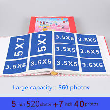 large capacity photo albums 3r 5 inch 7 inch photos album baby children s the family