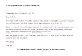 4 two weeks resignation letter samples u2013 download pdf format