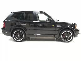 land rover white black rims used black land rover range rover sport for sale derbyshire