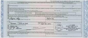 notarizing montana motor vehicle titles