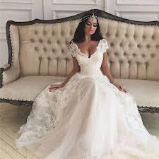 ivory wedding dress 2017 new white ivory wedding dress bridal gown custom size 6 8 10