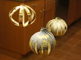 12 days of crafting re purposed paper ornaments little tidbits
