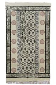 buyblock printed dhurrie rugs india dr3 navyasfashion