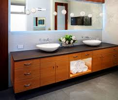 Bathroom  Cool Mid Century Modern Bathroom Vanity Ideas With - Mid century bathroom vanity light