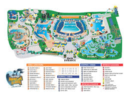 Aquatica Orlando Map by Six Flags Hurricane Harbor Thrillz The Ultimate Theme Park
