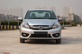 cars honda 2016 2016 honda amaze facelift u0026 cvt automatic official review