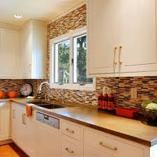 brown kitchen cabinets with backsplash photos hgtv