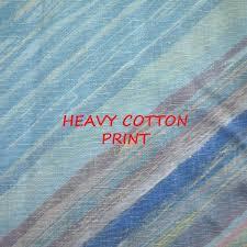 1 yard blue pink gray diagonal stripe print upholstery or home