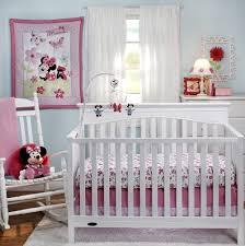 Mickey And Minnie Crib Bedding Disney Minnie S Garden 3 Comforter Crib Bedding