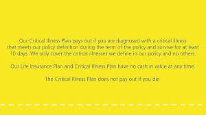 critical illness cover life insurance aviva