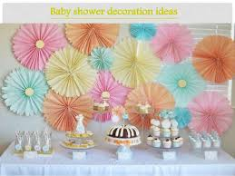 simple baby shower easy yet simples baby shower decoration ideas