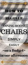 Recovering Dining Chairs How To Recover Dining Room Chair Seats Room House And Upholstery