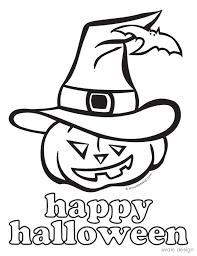 halloween pages print color exprimartdesign