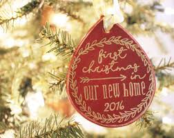 our house ornament personalized ornament