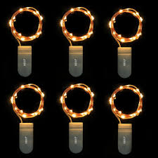 Battery Operated Christmas String Lights by Battery Operated Christmas Lights 6 Pack Fairy String Lights