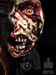 gory halloween costumes gurn burn gory halloween makeup look rachael divers makeup artistry