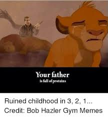 your father is full of proteins ruined childhood in 3 2 1 credit
