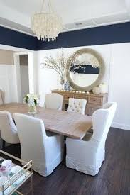 Navy Dining Rooms That Got Our Attention Navy Dining Rooms Blue - Navy and white dining room