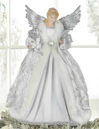 Christmas Decorations Angel Tree Topper by Moving Angel Christmas Tree Toppers Home Seasonal Christmas
