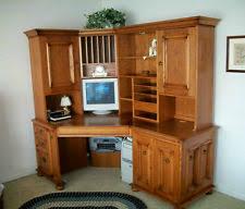 Solid Wood Corner Desk Solid Wood Desk Ebay