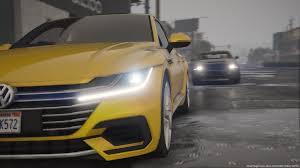 volkswagen arteon 2017 2018 volkswagen arteon sedan replace gta5 mods com