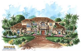 Spanish Style Floor Plans by Tuscan House Plans Luxury Home Plans Old World Mediterranean Style
