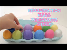 easter resurrection eggs resurrection eggs the easter story a bit sad parental guidance is