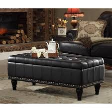 Leather Ottoman Bench Sofa Leather Chair And Ottoman Ottoman Bench Large Storage