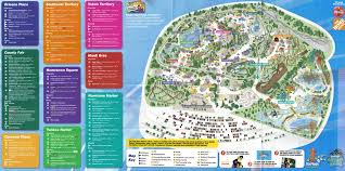 Six Flags In Usa Six Flags Map Usa At Great America Park Roundtripticket Me