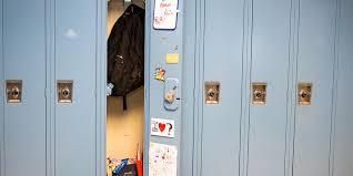 lockers middle worries locker anxiety huffpost