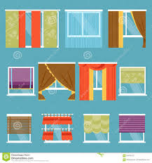 fetching curtains stock vector image toger for types as wells as
