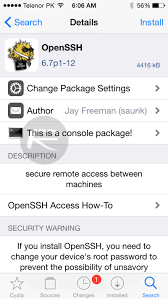 Ios 8 3 Jailbreak by How To Install Openssh On Ios 8 3 Jailbroken Iphone Ipad Or Ipod