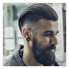 long mohawk hairstyles for men along with hairstyles with beards