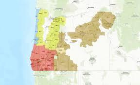 Black Rock Desert Map Logging Operations Shut Down On Odf Protected Lands In S W Oregon