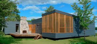 Microhouse Prefab Micro House Contemporary Wooden Single Story Custom