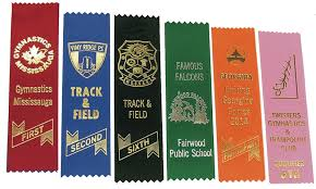 customized ribbon custom printed award ribbons baldwin sales